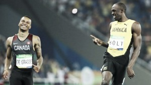 """Rio 2016: """"Lazy"""" Bolt cruises through to 200m final, whilst Gatlin and Blake bow out"""
