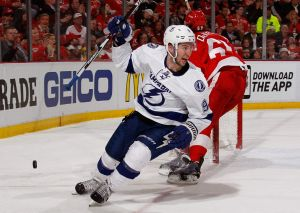 Tyler Johnson Does It Again; Tampa Bay Lightning Even Series With Detroit 3-3