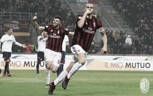 Bonucci! Il Milan batte il Crotone 1-0