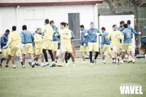 Fotogalería entrenamiento UD Las Palmas (28-1-15)