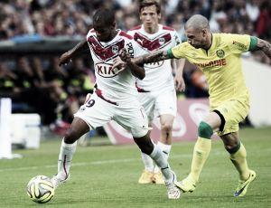 Bordeaux vira sobre Nantes e se despede do Chaban-Delmas com vitória