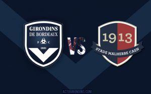 Girondins de Bordeaux vs Caen en vivo y en directo