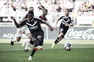 Bordeaux marca nos acréscimos, quebra invencibilidade do Monaco e vence primeira na Ligue 1