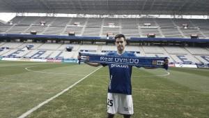 """Borja Domínguez: """"Estoy muy contento de venir al Real Oviedo"""""""