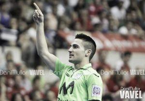 """Borja: """"Ganar la Liga y la Copa en mi primer año es algo increíble"""""""