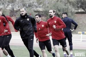 Borja Fernández ya trabaja a las órdenes de Fernando Soriano