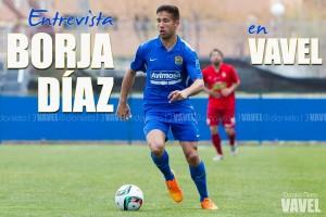 Entrevista Borja Díaz: ''Será extraño enfrentarme al equipo de toda mi vida''