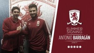 Barragán, nuevo jugador del Middlesbrough