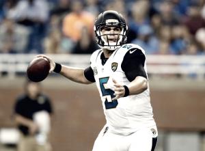 Bortles busca emular a Eli Manning
