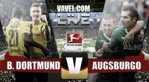 Resultado Borussia Dortmund vs Augsburgo en la jornada 19 de la Bundesliga 2015 (0-1)