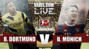 Resultado Borussia Dortmund vs Bayern de Múnich (0-1) en Bundesliga 2015