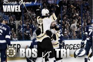 Boston Bruins strike thunder against Lightning with 6-2 victory