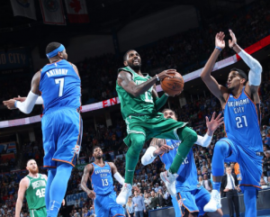 NBA - Boston Celtics corsari ad Oklahoma City, i Lakers superano i Nets