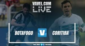 Resultado Botafogo x Coritiba pelo Campeonato Brasileiro (2-2)
