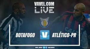 Resultado Botafogo x Atlético-PR pelo Campeonato Brasileiro 2017 (0-1)