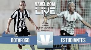 Partido Botafogo 2-1 Estudiantes en Copa Libertadores 2017
