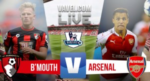 Bournemouth vs Arsenal en vivo y en directo online en Premier League 2016 (0-0)