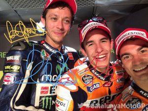 Catalunya : Marquez l'emporte face à Rossi