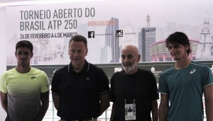 Sorteio do Brasil Open 2018 define adversários complicados para brasileiros