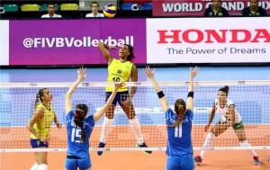 Volley femminile - World Grand Prix 2016: Italia, che spreco! Vince 3-1 il Brasile