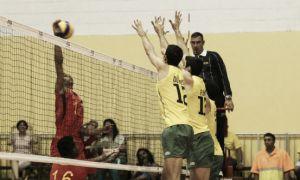 Brasil venció a Colombia en el Suramericano de Voleibol
