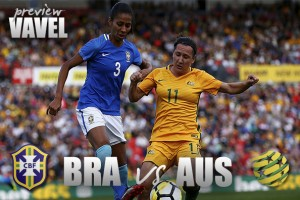 Brazil WNT vs. Australia WNT: Two World Cup qualified teams face off to begin the 2018 Tournament of Nations