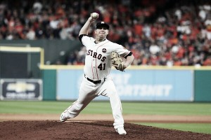 2017 World Series: Brilliant Peacock relief effort helps Houston Astros hold off Los Angeles Dodgers in Game 3