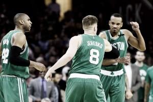 Boston Celtics stun Cleveland Cavaliers 111-108 in Game 3