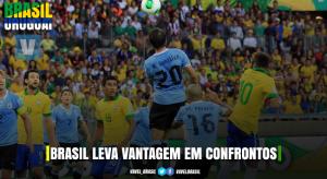 Histórico: Brasil leva vantagem em confrontos diretos contra Uruguai