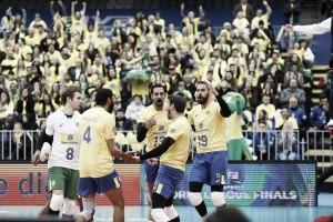 Brasil inicia a fase final da Liga Mundial com vitória sobre o Canadá