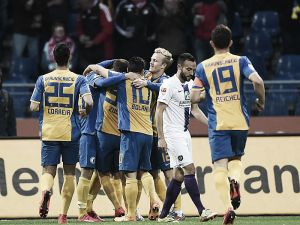Eintracht Braunschweig vs. Erzgebirge Aue: Hosts complete comeback with three second half goals