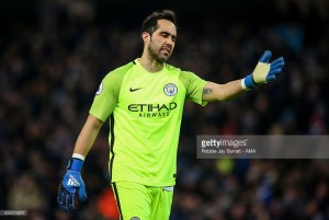 Claudio Bravo insists he's happy at Man City and wants to stay