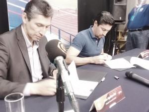 Firma Bravos con televisora estatal
