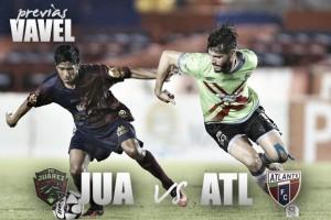 Fc Juárez - Atlante: Duelo de potros