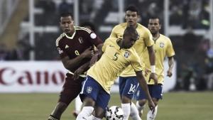 Resultado Venezuela x Brasil pelas Eliminatórias 2018 (0-2)