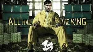 "Leo Messi, ""All hail the king"""