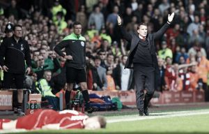 "Brendan Rodgers: ""First-half performance cost us"""
