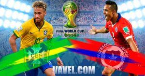 Un premier huitième Brésil - Chili très prometteur