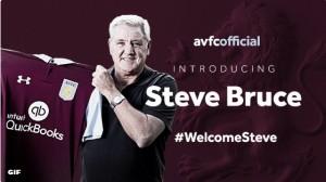 Steve Bruce, nuevo entrenador del Aston Villa