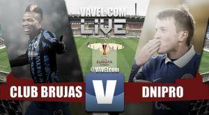 Resultado Brujas vs Dnipro en la Europa League 2015 (0-0)