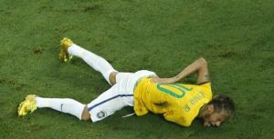 Triste despedida de Neymar de la Copa del Mundo
