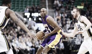 Resumen NBA: Utah despide a Kobe con un palizón y Westbrook logra su 16º triple-doble
