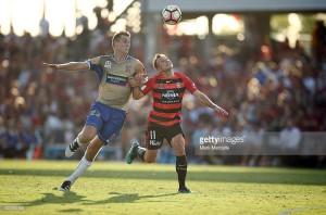 Australian forward Kristian Brymora on trial with Watford