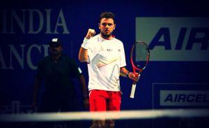 Wawrinka prend le meilleur sur Roger-Vasselin à Chennai