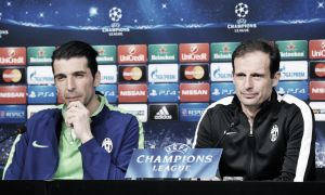 """Champions League, Allegri e Buffon in coro: """"Sarà una gara difficile. La pressione è tanta, così come l'orgoglio di esserci"""""""