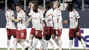 RB Leipzig con pasaje directo a los cuartos