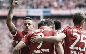 Il sabato di Bundesliga: goleade di Bayern e Werder. Resta a galla l'Amburgo, ok il Lipsia