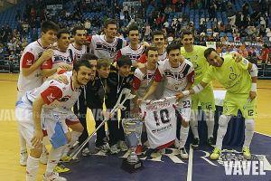 Fotos e Imágenes del Burela FS 3-7 Santiago Futsal de la Final de Copa Xunta 2014