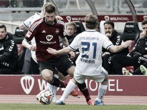 1. FC Nürnberg 1-1 Karlsruher SC: Spoils shared in hard-fought draw