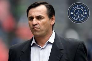 Atlético San Luis presentaría esta tarde a Carlos Bustos